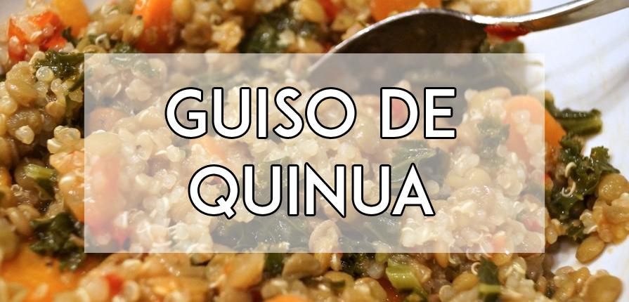 guiso de quinua