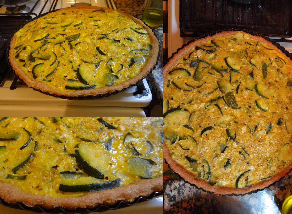 tarta integral de zapallitos y quinua