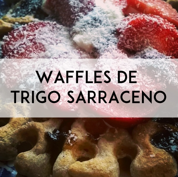 waffles de trigo sarraceno