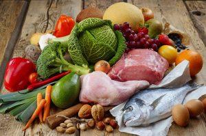 ingredientes típicos de la dieta paleo
