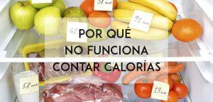 contar calorias no funciona para adelgazar